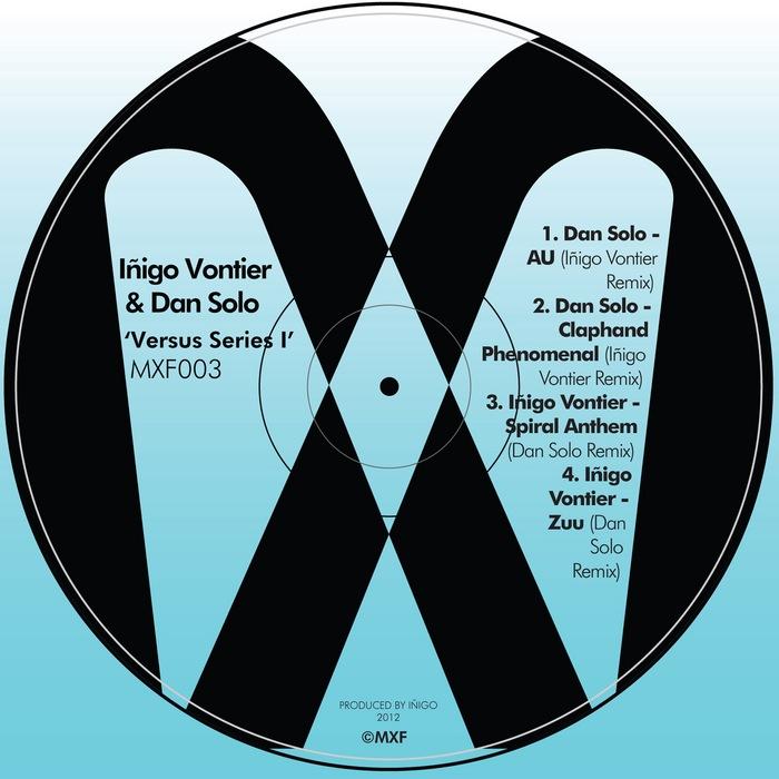INIGO VONTIER/DAN SOLO - Versus Series I