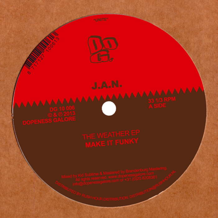 JAN - The Weather EP