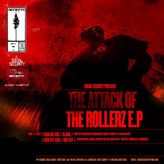 SOCIAL SECURITY/AUDIO HABITAT - Social Security presents The Attack Of The Rollerz