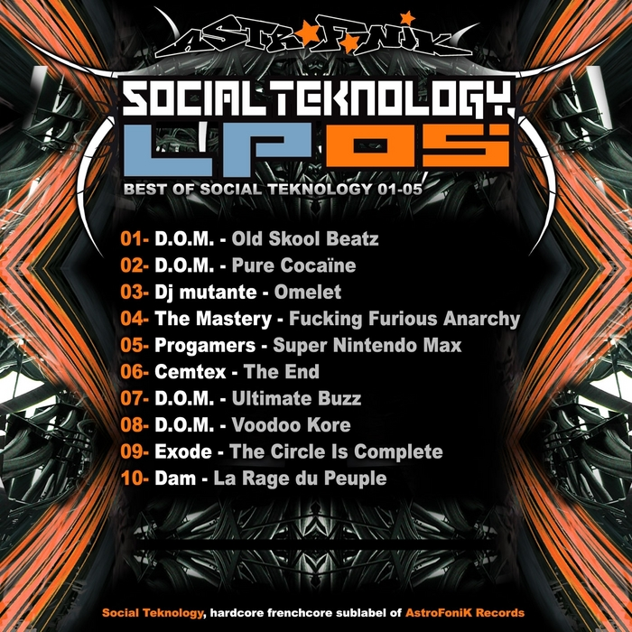 VARIOUS - Social Teknology LP Vol 5 Best Of Social Teknology 01-05