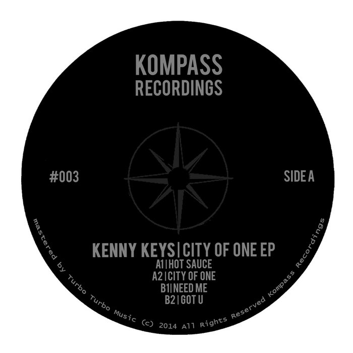 KEYS, Kenny - City Of One EP
