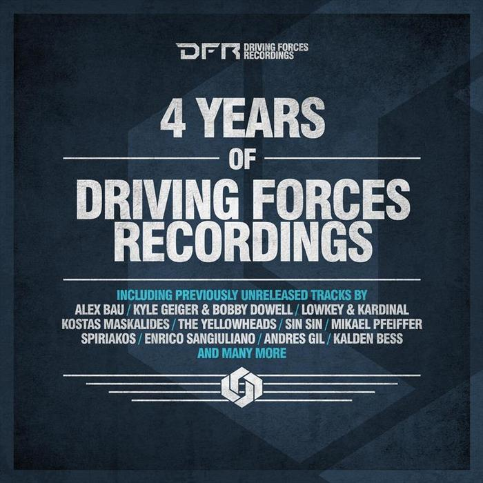 VARIOUS - 4 Years Of Driving Forces Recordings