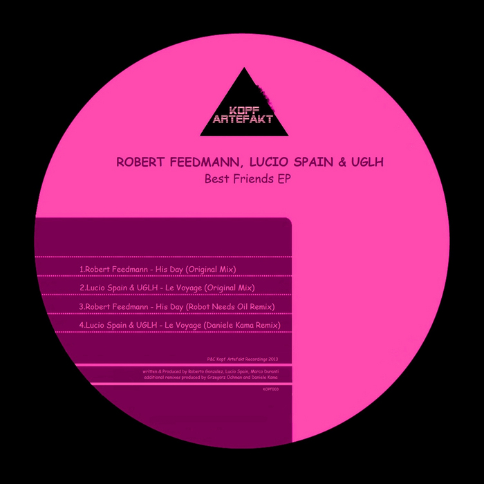 FEEDMANN, Robert/LUCIO SPAIN/UGLH - Best Friends