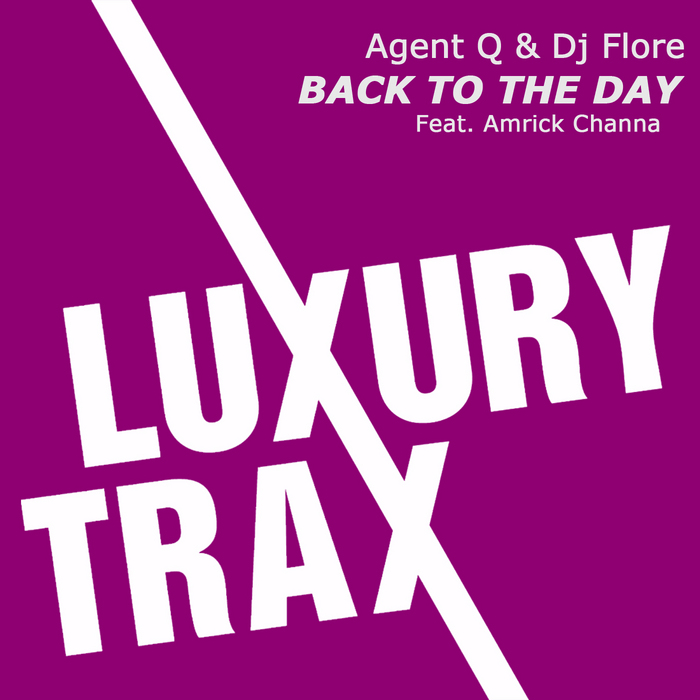 AGENT Q/DJ FLORE feat AMRICK CHANNA - Back To The Day