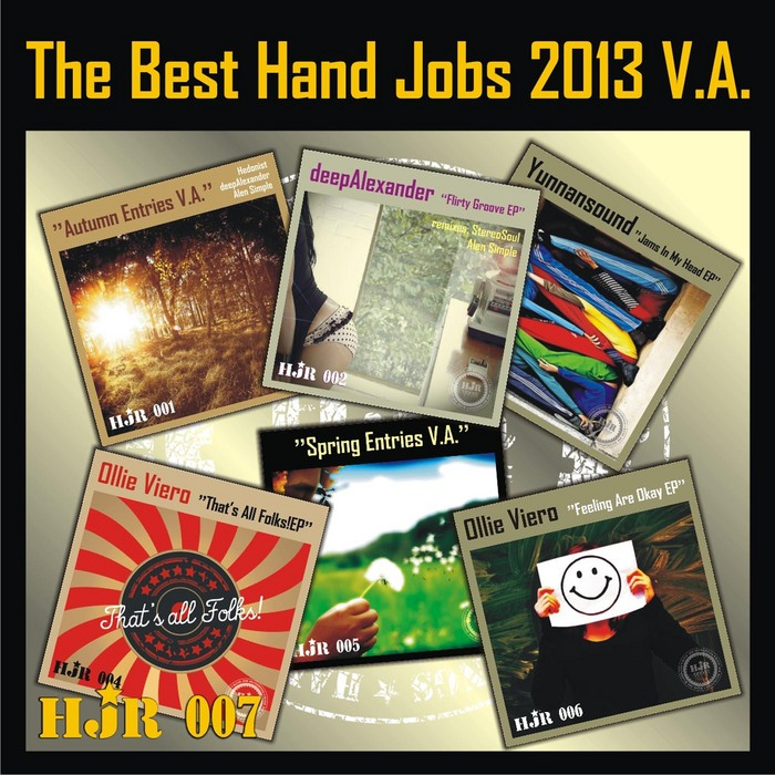 VARIOUS - The Best Hand Jobs 2013