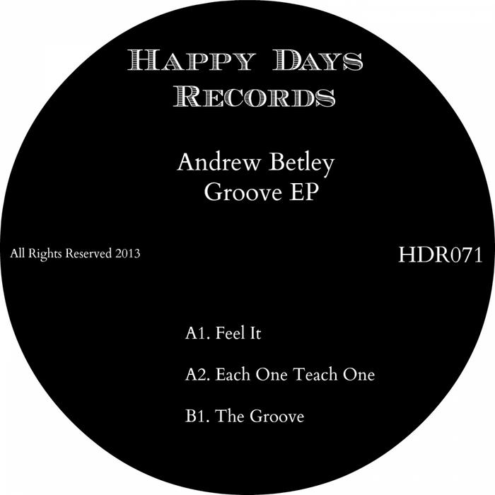 BETLEY, Andrew - Groove EP