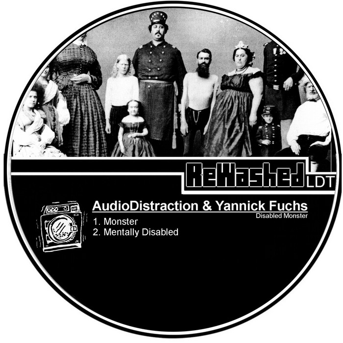 AUDIODISTRACTION/YANNICK FUCHS - Disabled Monster