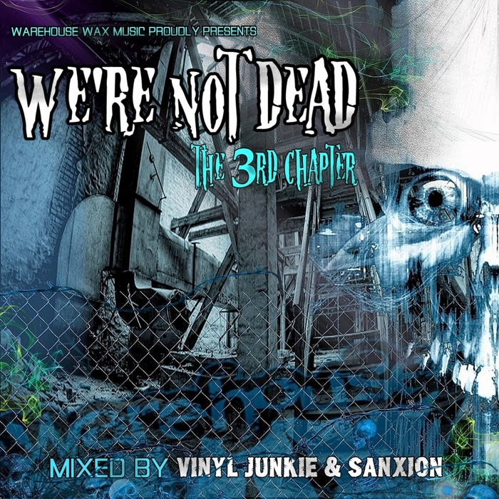 VINYL JUNKIE/SANXION/VARIOUS - We're Not Dead The 3rd Chapter (unmixed tracks)