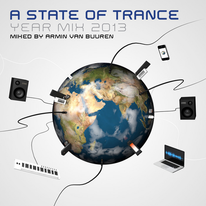 VAN BUUREN, Armin/VARIOUS - A State Of Trance Year Mix 2013 (unmixed tracks)