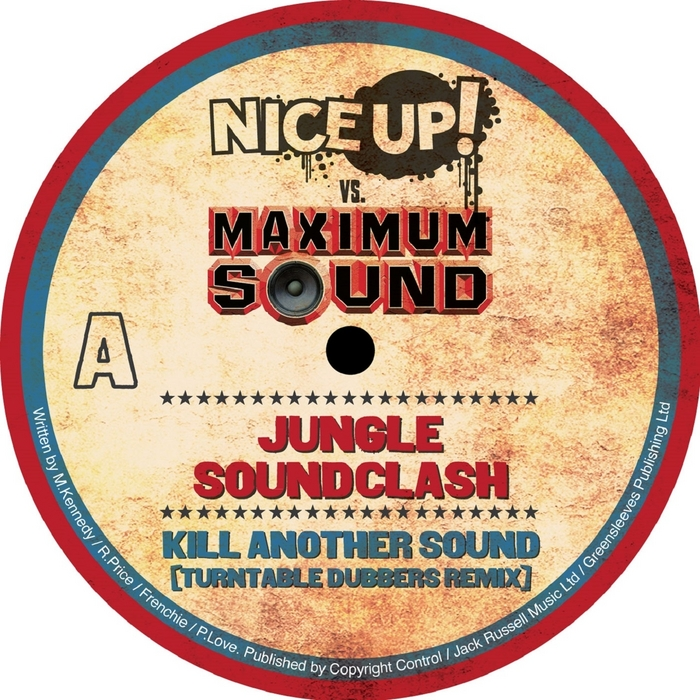MR VEGAS/BOUNTY KILLER - Nice Up! vs Maximum Sound: Jungle Soundclash