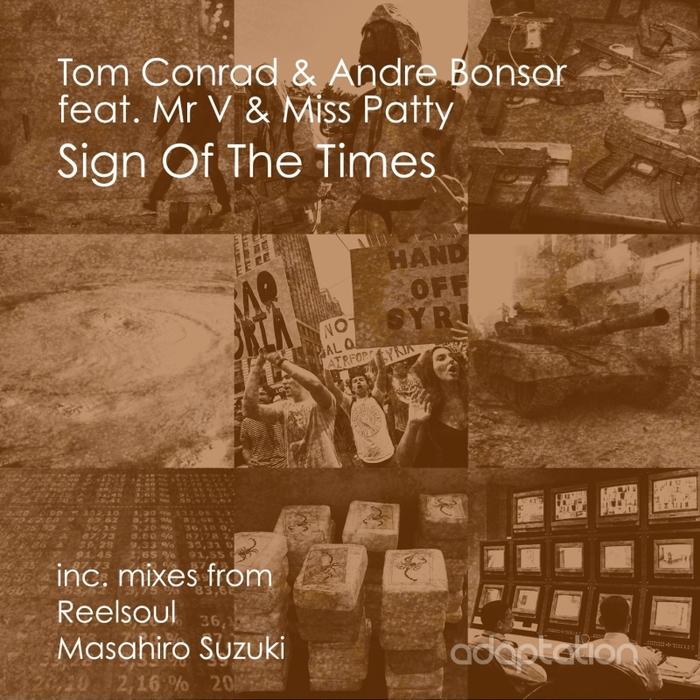 CONRAD, Tom & ANDRE BONSOR feat MR V & MISS PATTY - Sign Of The Times