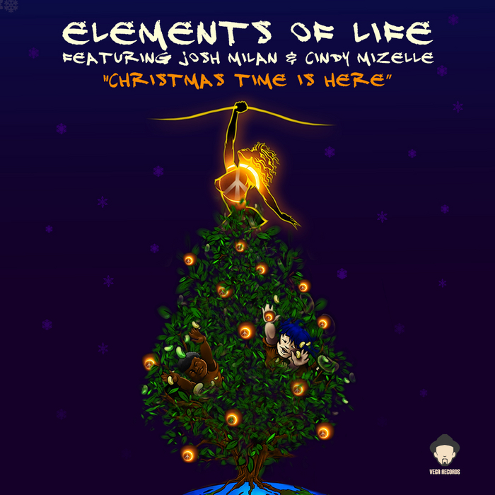ELEMENTS OF LIFE feat JOSH MILAN/CINDY MIZELLE - Christmas Time Is Here