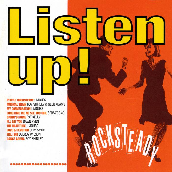 VARIOUS - Listen Up! Rocksteady
