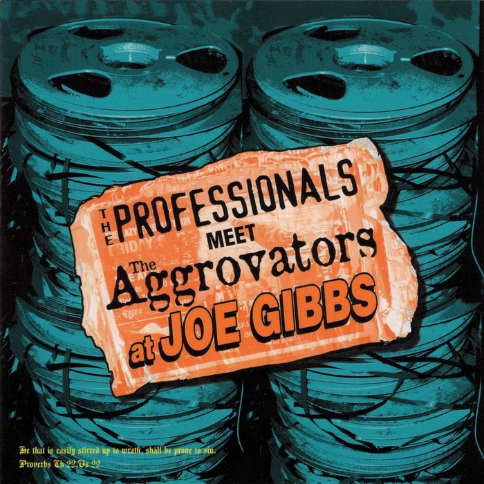 THE PROFESSIONALS - The Professionals Meet The Aggrovators At Joe Gibbs