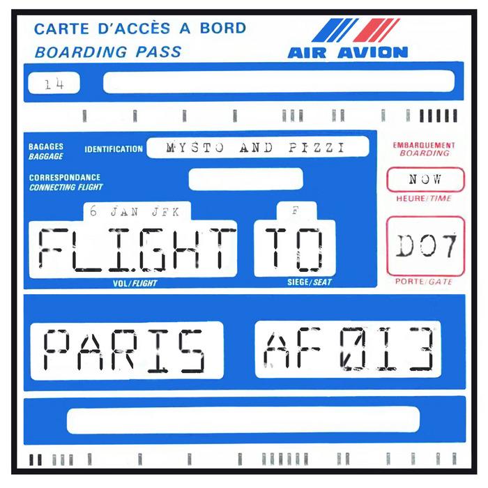 MYSTO/PIZZI - Flight To Paris