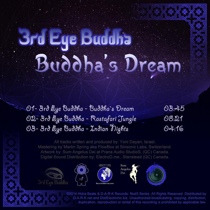 3RD EYE BUDDHA - Buddha's Dream EP