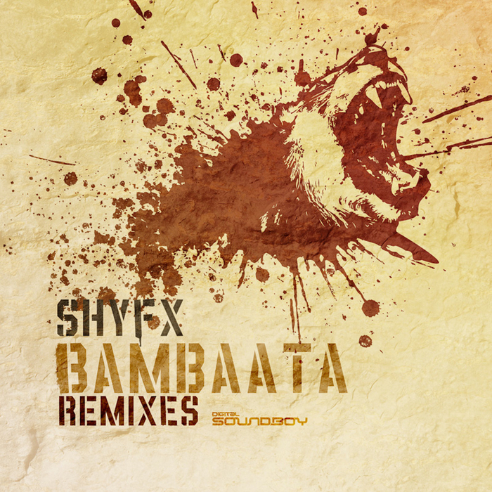 SHY FX - Bambaata (Break/Dillinja Remixes)