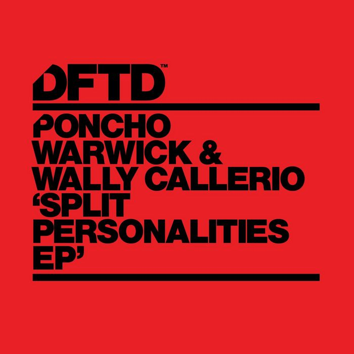 PONCHO WARWICK/WALLY CALLERIO - Split Personalities EP
