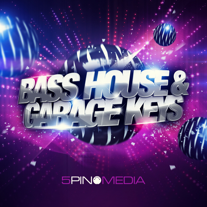 5PIN MEDIA - Bass House & Garage Keys (Sample Pack WAV/APPLE/REX/LIVE/MIDI)
