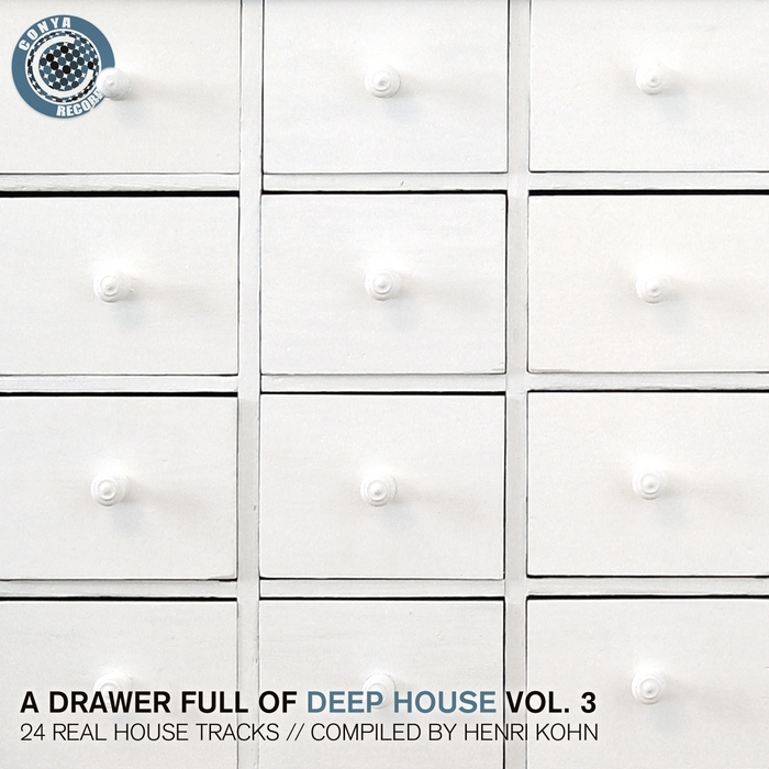 Various a drawer full of deep house vol 3 24 real house for Deep house tracks