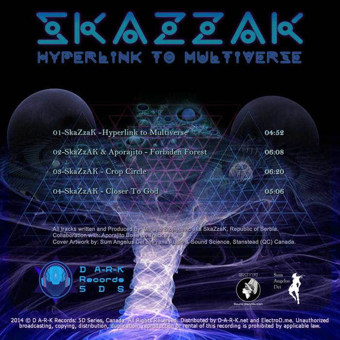 SKAZZAK/APORAJITO - Hyperlink To Multiverse EP