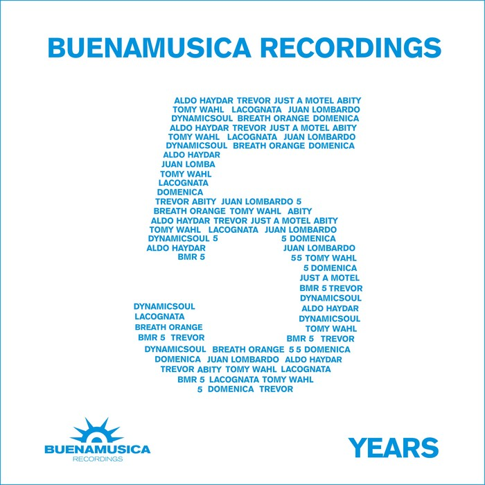 VARIOUS - Buenamusica Recordings - 5 Years - Blue