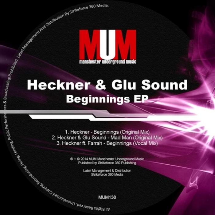 HECKNER/GLU SOUND - Beginnings EP