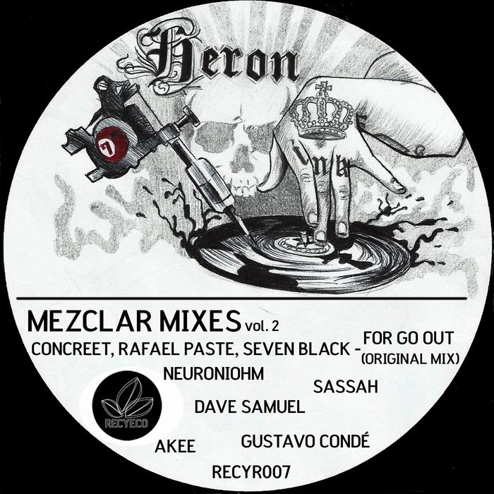 CONCREET/RAFAEL PASTE/SEVEN BLACK - Mezclar Mixes Vol 2