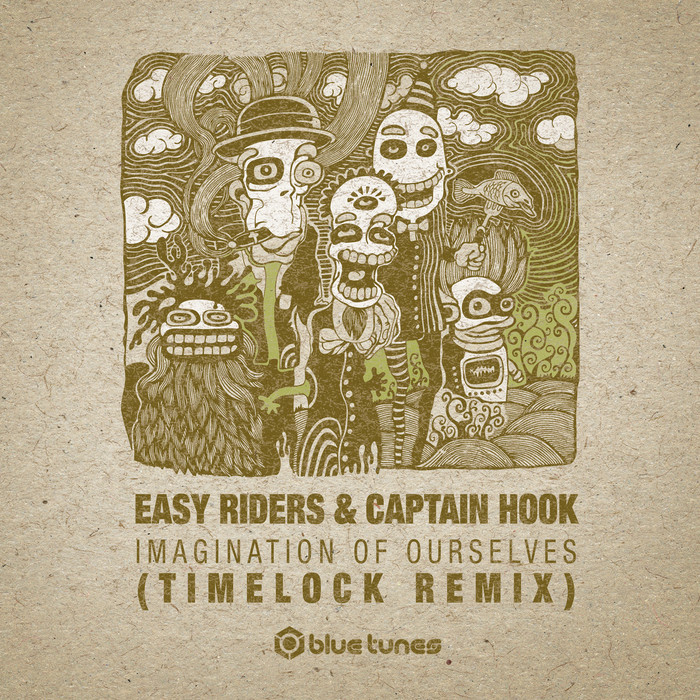 CAPTAIN HOOK/EASY RIDERS - Imagination Of Ourselves