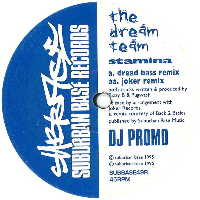DREAM TEAM, The - Stamina (remixes)