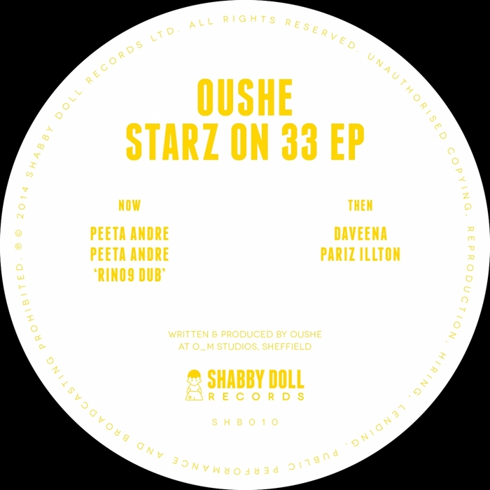 OUSHE - Starz On 33 EP