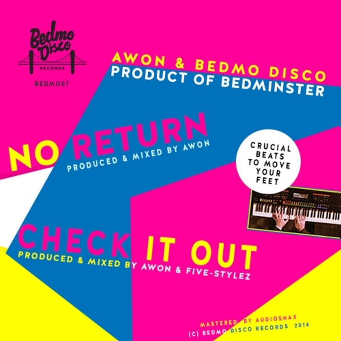 AWON/BEDMO DISCO - Product Of Bedminster