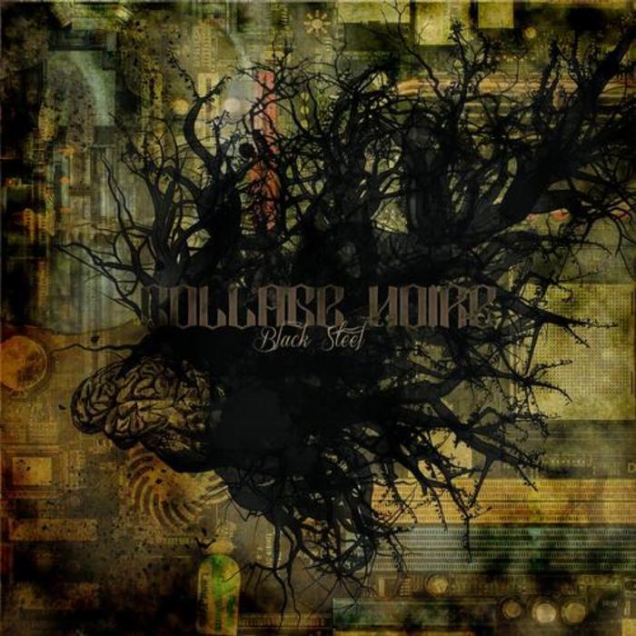 COLLAGE NOIRE - Black Steel