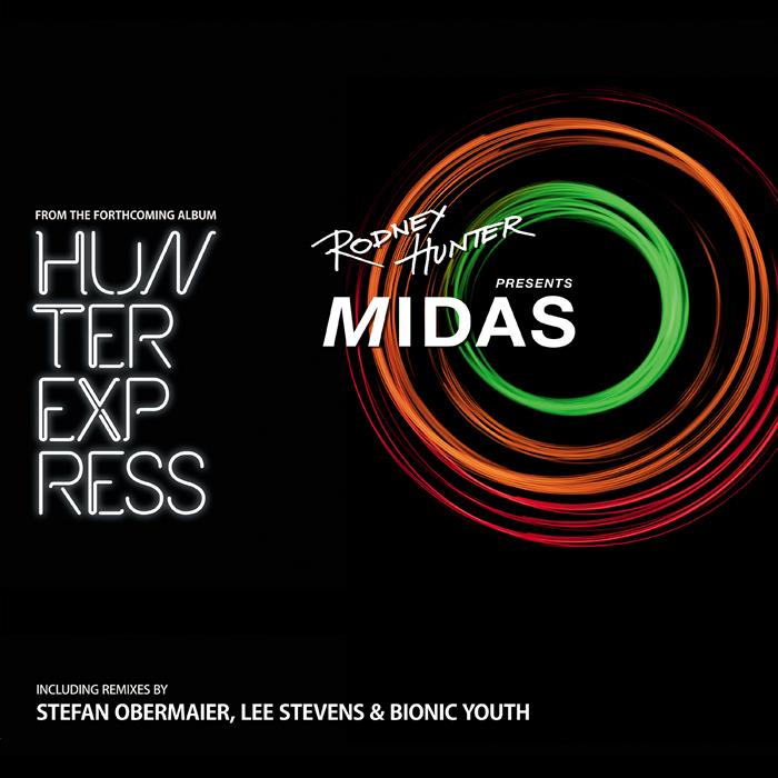 HUNTER, Rodney - Midas EP