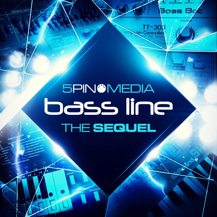 5PIN MEDIA - Bass Line: The Sequel (Sample Pack MIDI/WAV/APPLE)
