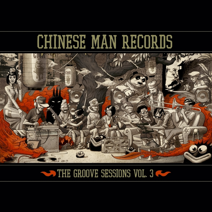 CHINESE MAN - The Groove Sessions Vol 3