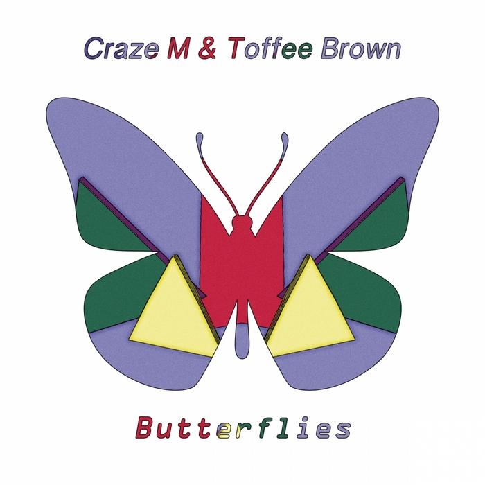CRAZE M/TOFFEE BROWN - Butterflies