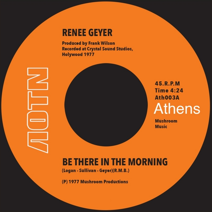 RENEE GEYER - Be There In The Morning