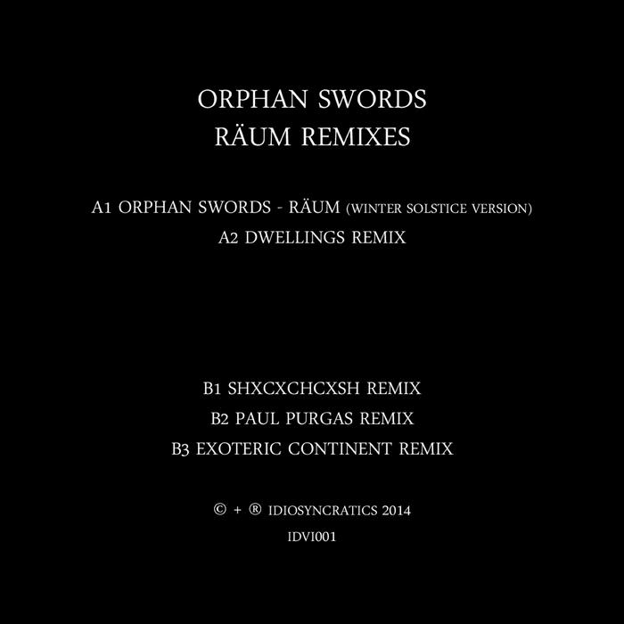 ORPHAN SWORDS - Raum Remixes