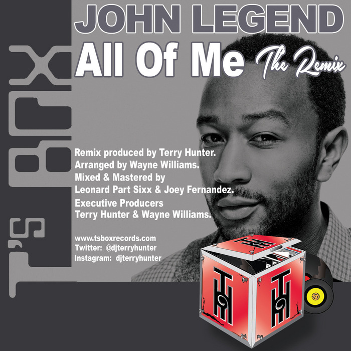 LEGEND, John - All Of Me The Remix