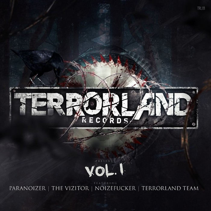 VIZITOR, The/NOIZEFUCKER/TERRORLAND TEAM/PARANOIZER - Terrorland Records Vol 1
