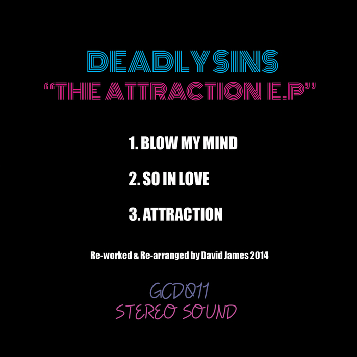 DEADLY SINS - The Attraction EP