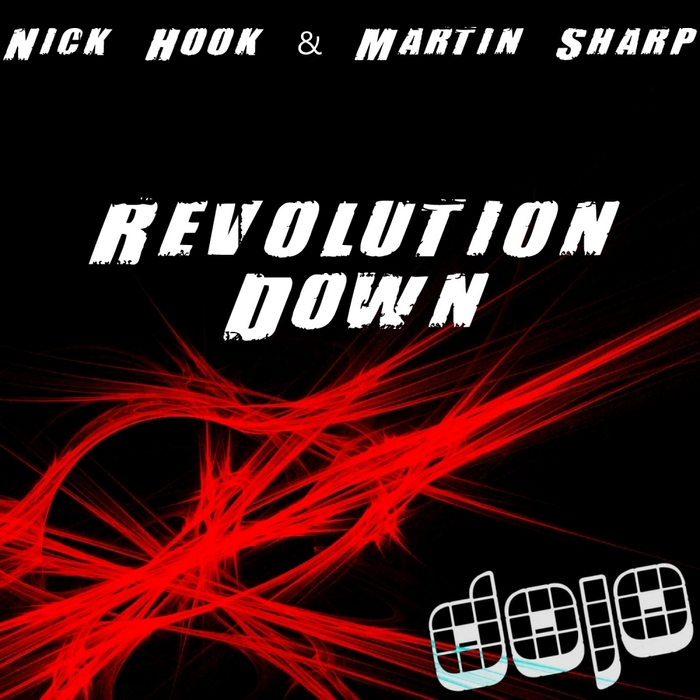 HOOK, Nick/MARTIN SHARP - Revolution Down