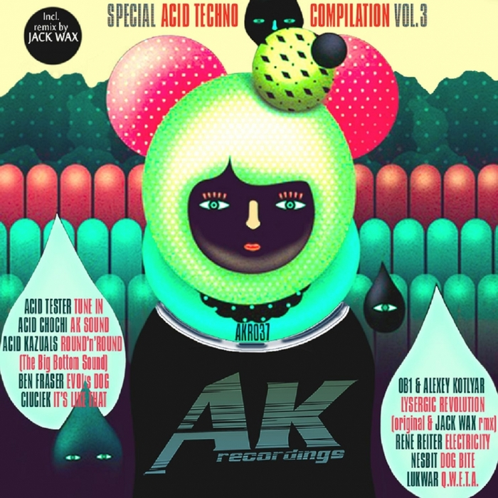 VARIOUS - AKR Special Acid Techno Compilation Vol 3