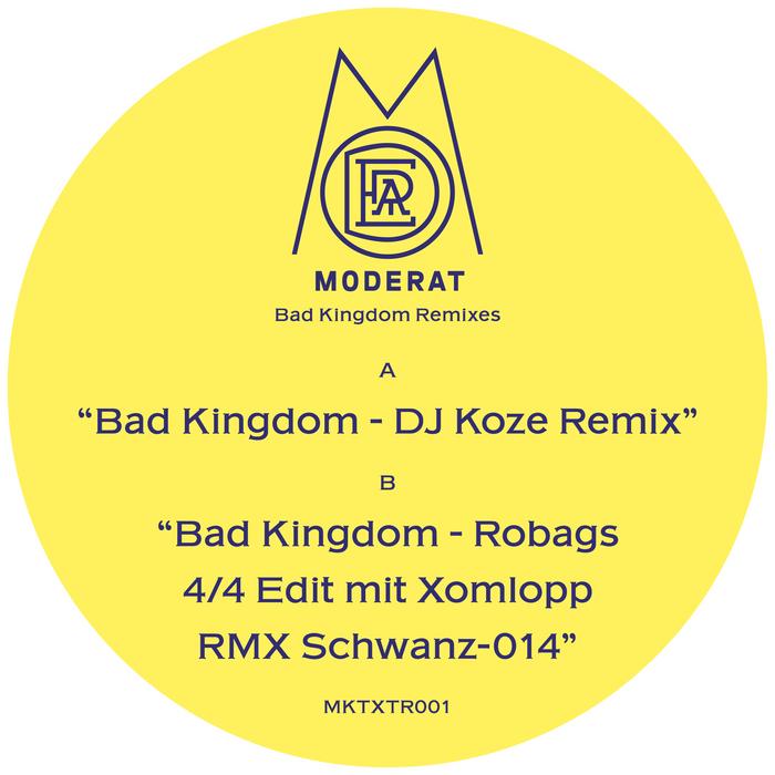 MODERAT - Bad Kingdom (DJ Koze Remix & Robag Wruhme Edit)