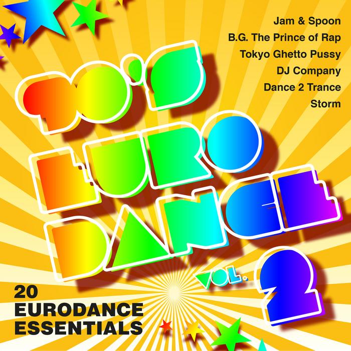 VARIOUS - 90's Eurodance Vol 2 - 20 Eurodance Essentials