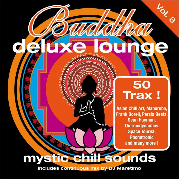 VARIOUS - Buddha Deluxe Lounge Vol 8 (Mystic Bar Sounds)