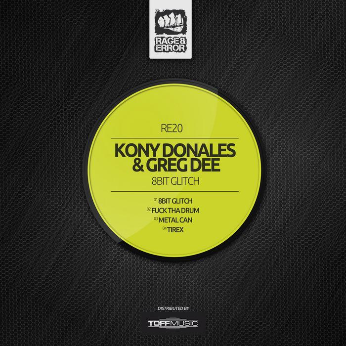 DONALES, Kony/GREG DEE - 8 Bit Glitch EP