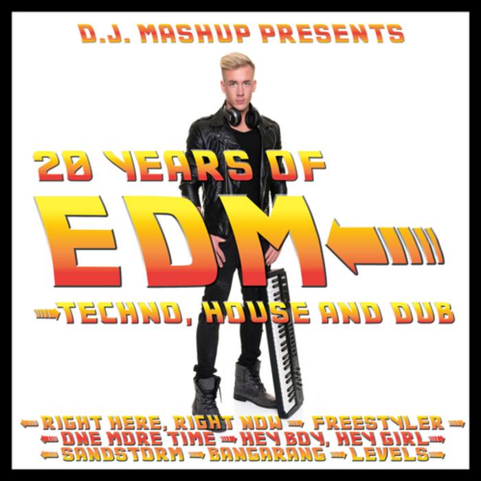 DJ MASH UP - 20 Years Of EDM: Techno, House & Dub