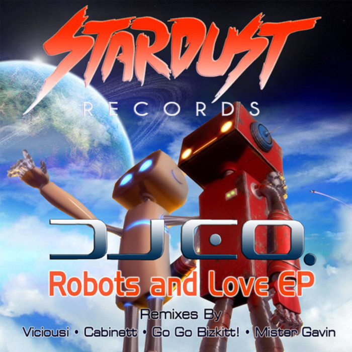 DJ EQ - Robots & Love EP